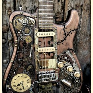 custom shop fender telecaster steampunk martper guitars